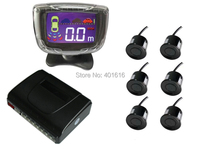 Parking Sensor 6sensors 3 5 Display Rearview System Auto Parking Assistance LCD Display DT500 6