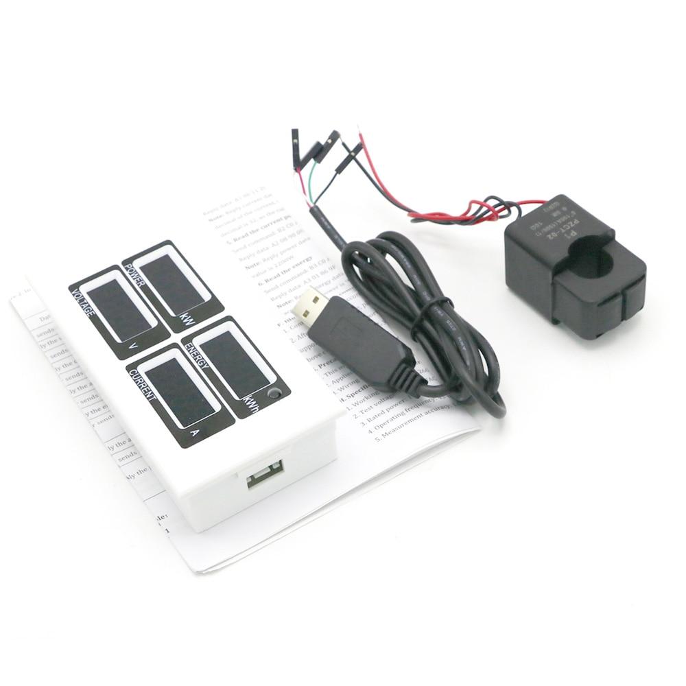 4 in 1 AC 80v-260V Digitale 0 ~ 100A Watt Potenza Energia Contatore - Strumenti di misura - Fotografia 1