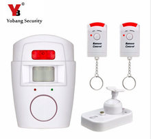 YobangSecurity Home Security PIR Alert Infrared Sensor Anti-theft Motion Detector Alarm Wireless IR Remote Security Alarm