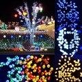 17 M Energía Solar LED Luz de la Secuencia, RGB 100 Led 17 M Hadas De Inducción Sensor de Luz IP44 LLEVÓ La Luz para Navidad Del Banquete de Boda, de Cumpleaños