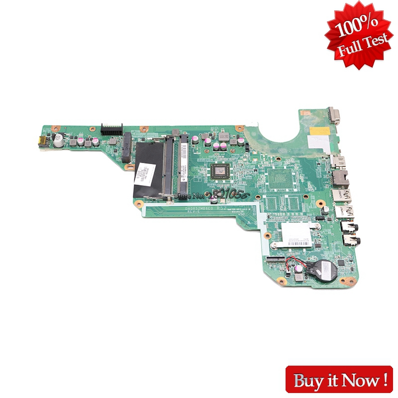 NOKOTION 697230-501 697230-001 For HP Pavilion G4 G6 G4-2000 G6-2000 Laptop Motherboard DA0R52MB6E0 With E1-1800 CPU Onboard декор blau fifth avenue dec tyffanny a 25x75