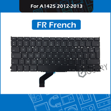 10pcs/Lot Laptop France Keyboard for Macbook Pro Retina 13″ A1425 FR French keyboard Replacement 2012 2013 Year