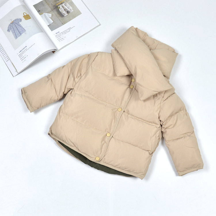 ФОТО Girls Clothes Winter Jacket for Girls Down Coat Jacket for Boys Parkas Baby Girl Boy Turtleneck Coat Jackets Kids Coats Outwear