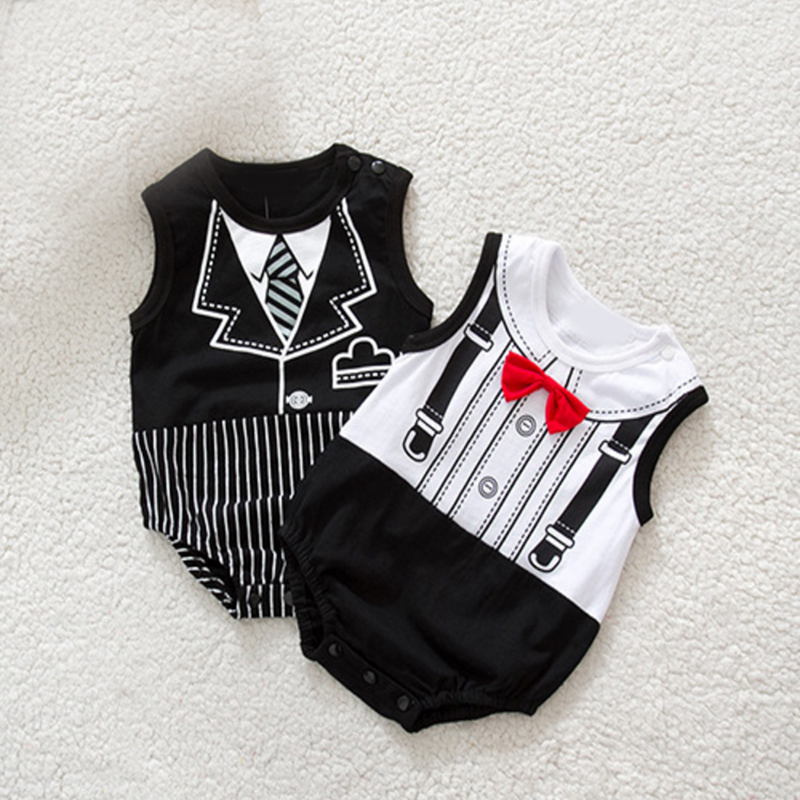 Xmas Baby boy/girls Infant Newborn Clothing Sets Gentleman Romper & Jumpersuit Christmas Bebe Birthday Costumes Gift