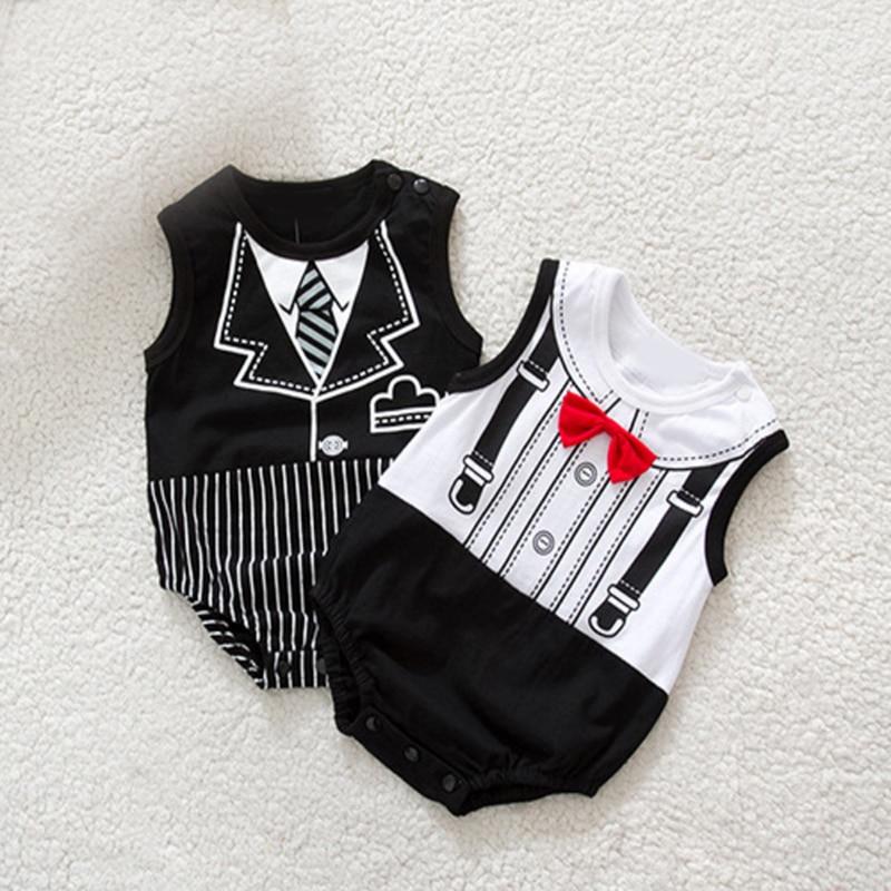 Xmas Baby boy/girls Infant Newborn Clothing Sets Gentleman Romper & Jumpersuit Christmas Bebe Birthday Costumes Gift