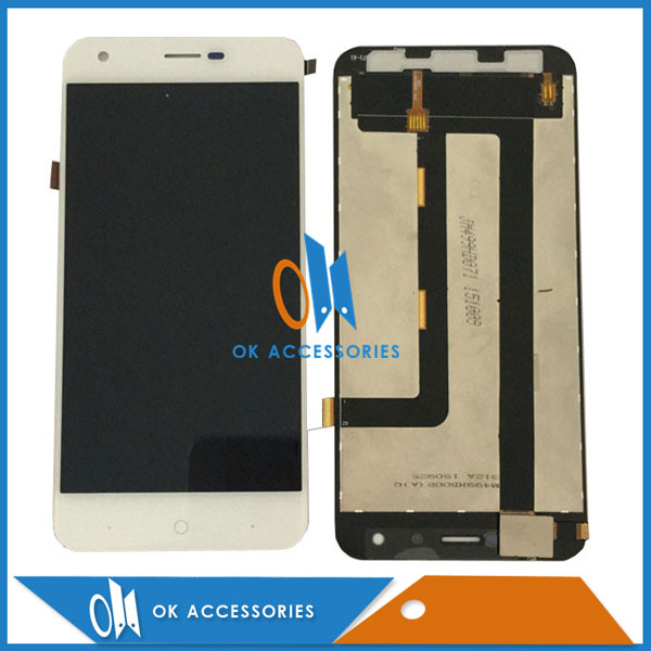 Black White Color For Zopo ZP530 LCD Display+Touch Screen Digitizer Assembly 1PC/Lot With Tools  high quality 1pc lot lcd display touch screen assembly digitizer for htc 10 evo white black color with tools