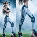 2016 Women's USAFootball Team Logo 3D Prints Pants Compression Medias Leggings Gym Athletic Skinny Fitness Sportswear Trousers