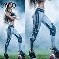 2016 Women's USAFootball Team Logo 3D Prints Pants Compression Medias Leggings Gym Athletic Skinny Fitness Sportswear Trousers