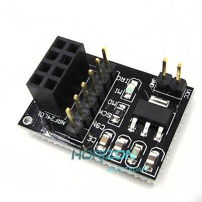 10 PCS Socket Adaptateur plaque Conseil Pour NRF24L01 + Sans Fil Traeive module