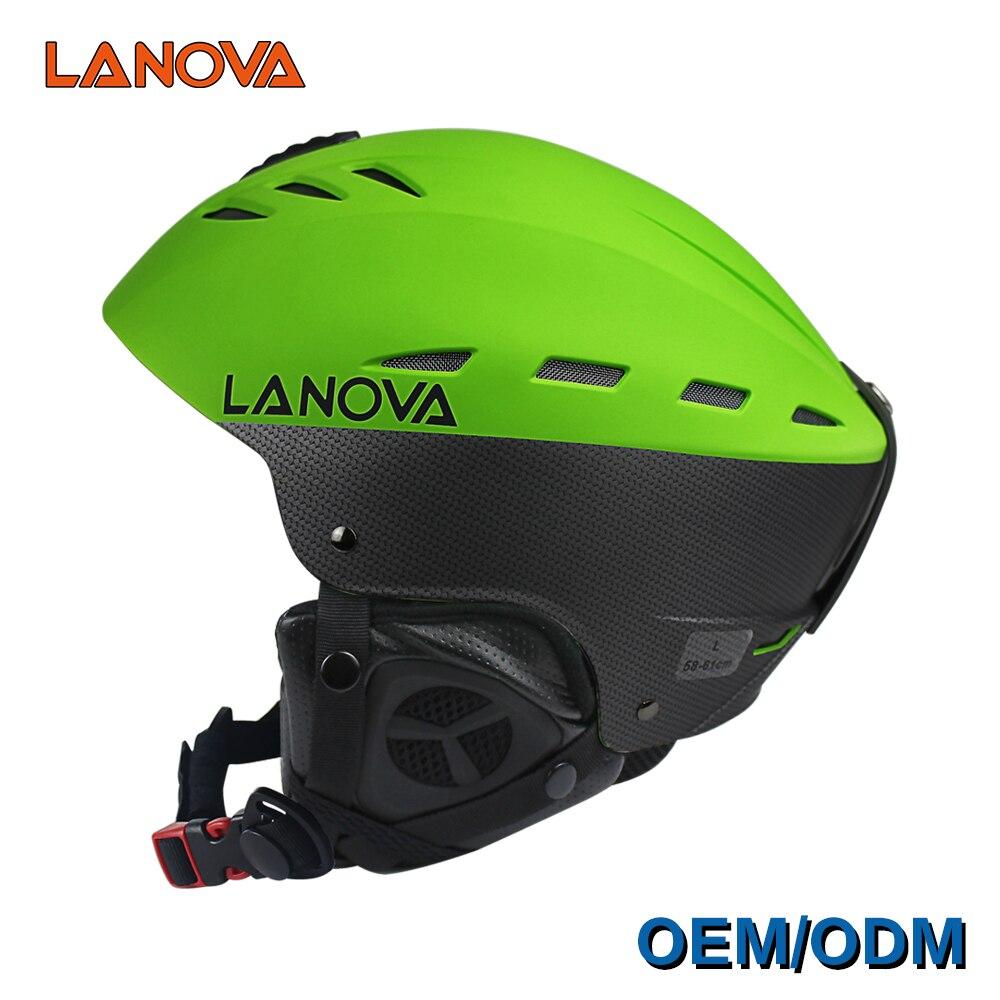 LANOVA marque professionnel casque de ski adulte casque de ski homme de patinage/planche à roulettes casque multicolore neige sport casques