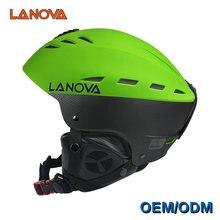 Lanova брендовый профессиональный лыжный шлем для взрослых мужской
