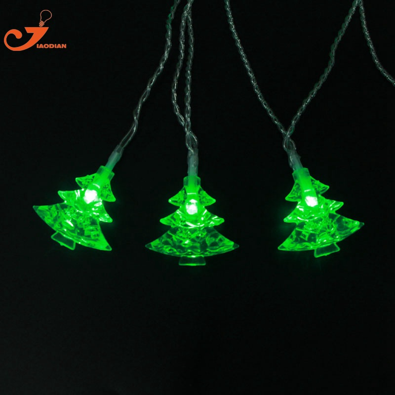 Christmas Tree Outdoor String Light Curtain Battery