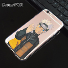 Naruto transparent phone cases / covers for iPhone 4, 4S, 5, 5S, SE, 6, 6S, 6S Plus
