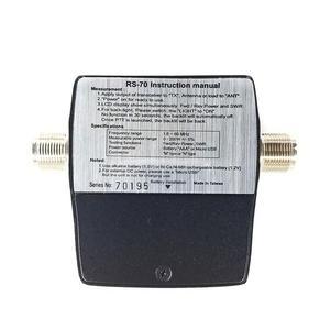 Image 5 - NISSEI RS 70 الرقمية SWR عداد الطاقة 1.6 60MHz 200 واط م نوع موصل