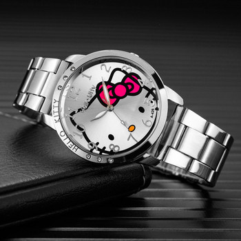 цена на Women Sliver Watch Stainless Steel  Watches Women Top Brand Luxury Casual Clock Ladies Wrist Watch Relogio Feminino