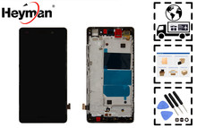 Ограниченное предложение Heyman LCD for Huawei P8 Lite (ALE L21/TL00/UL00) LCD display screen(with front panel,with touchscreen)+protective film