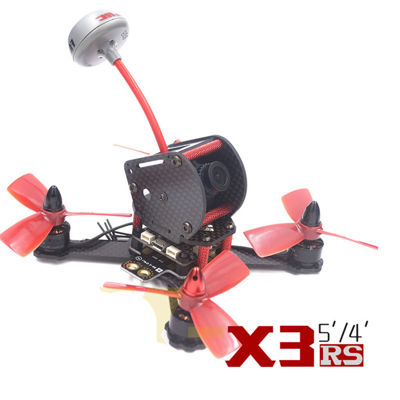 QAV-X3 RS 130mm quadcopter 3K pure carbon fiber frame DIY FPV mini racing drone for 3045 3030 3 inch propeller qav r 220 frame quadcopter pure carbon frame 4 2 2mm cobra cm2206 little bee 30a esc sp racing f3 for diy fpv mini drone
