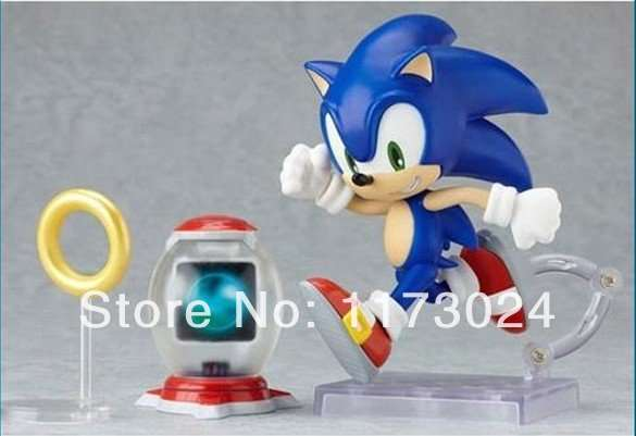 Online Shop Classic Game Anime Super Sonic The Hedgehog Sega Action Figure 10cm New In Box 214 Aliexpress Mobile