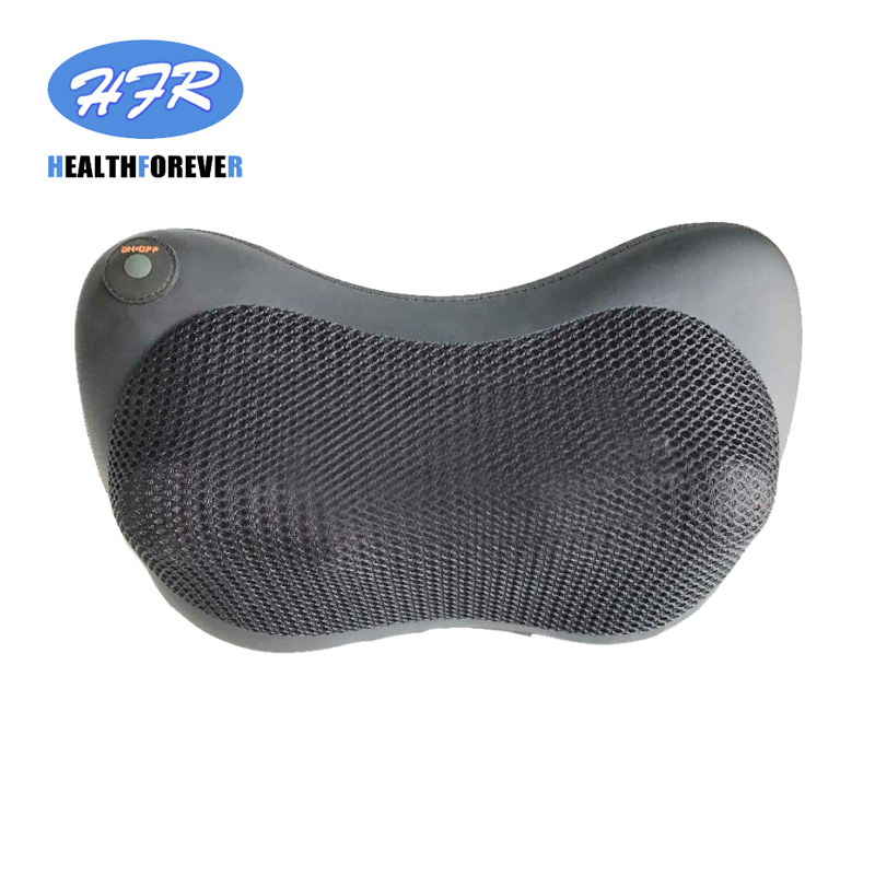 HFR-858-3D-1 HealthForever Luxury Neck Home&Car Massage Pillow Kneading and Shiatsu Machine Lumbar Cushion with Heat
