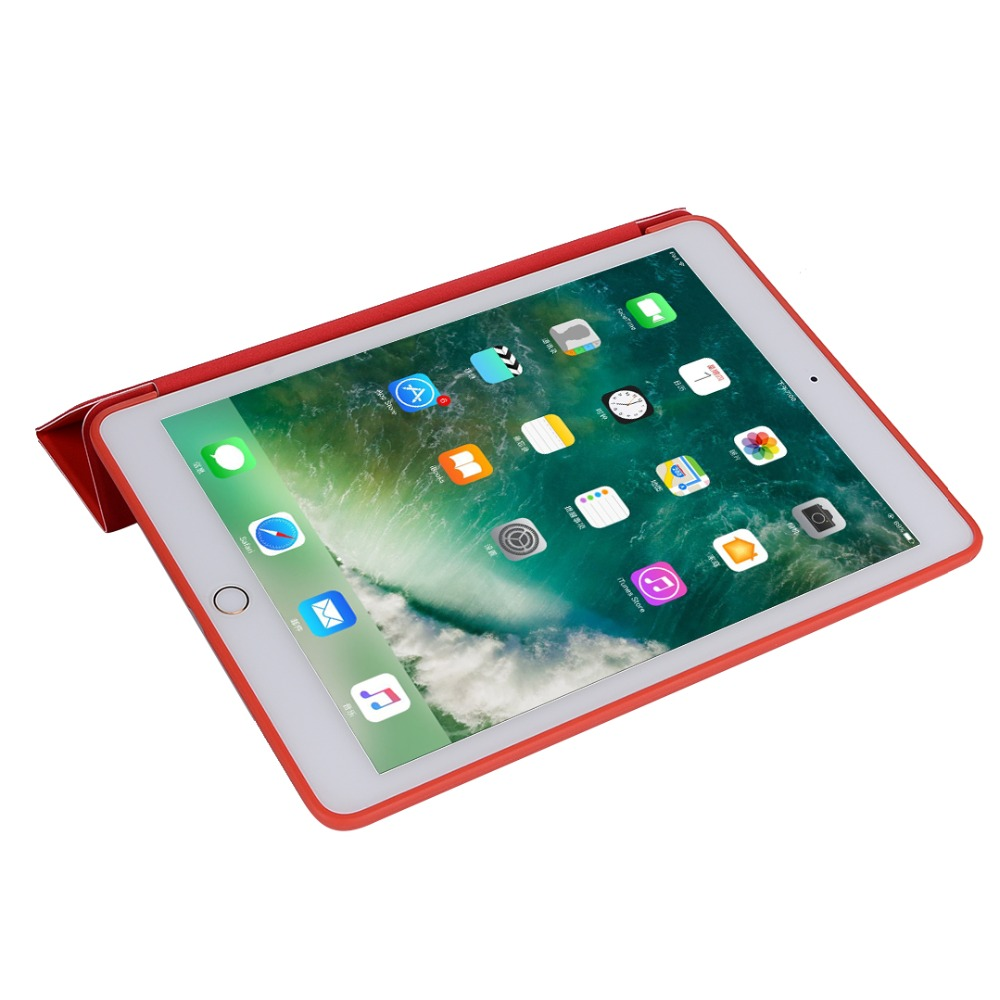 For Ipad Pro 9.7 A1673 A1674 A1675 Case Cover Smart Slim Magnetic TPU Leather Stand Cases + Film + Stylus