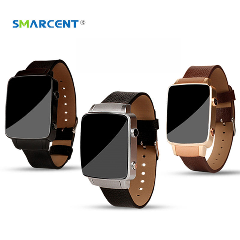 SMARCENT 3 Bluetooth Smart Watch with Camera Pedometer Sleep Monitoring Smartwatch with Replaceable Straps For Android