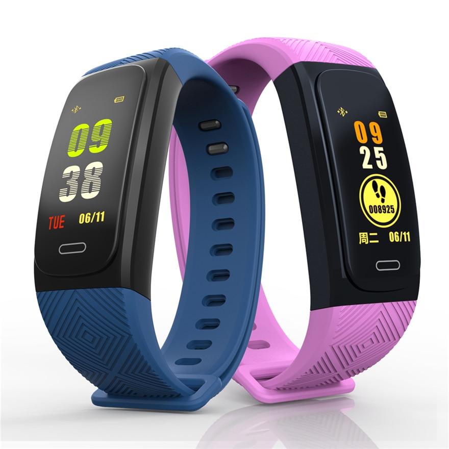 UW200 Color Screen GPS Activity Fitness Tracker Smart Band Waterproof Heart Rate Monitor Fitness Sport Bracelet PK S908 Watch