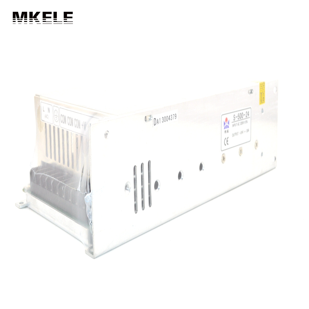 Free shipping S-500-24 24V power supply 24V 20A AC-DC High-Power PSU 500W AC110V industrial grade 500w 24v power supply 24v 20a ac dc high power psu 500w dc24v