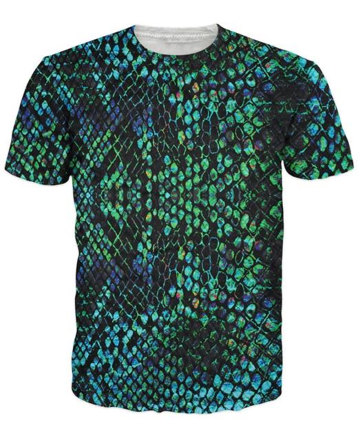 Snakeskin T-Shirt especially unisex 3d print summer style tops fashion t  shirt for women 10e380c14