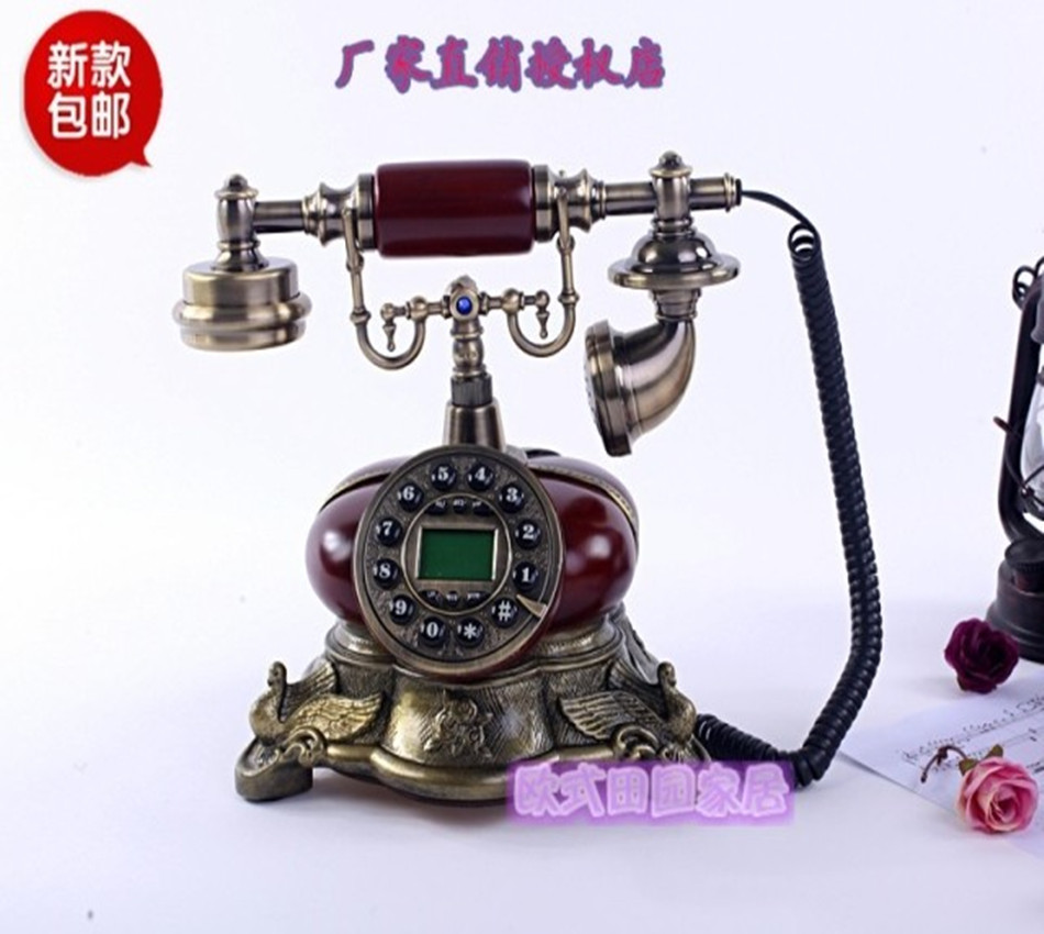 இnew Retro European Antique Antique Telephone Telephone Household