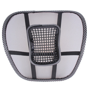 Image 2 - Assento de carro apoiado por uma almofada almofada de massagem lombar volta cintura cinta lombar assento suporta almofada cadeira de escritório assento de carro almofada