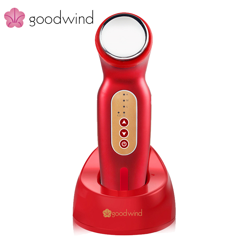 La goodwind cm-1-2 facial Cuerpo reafirmante V forma belleza Cuidado DE LA PIEL máquina masajeador eléctrico salud spa limpiador ultrasónico