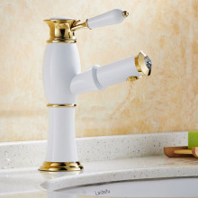 Wholesale and Retail High Quality Bathroom Wash Basin Sink Countertop Faucet Pull Out Spout