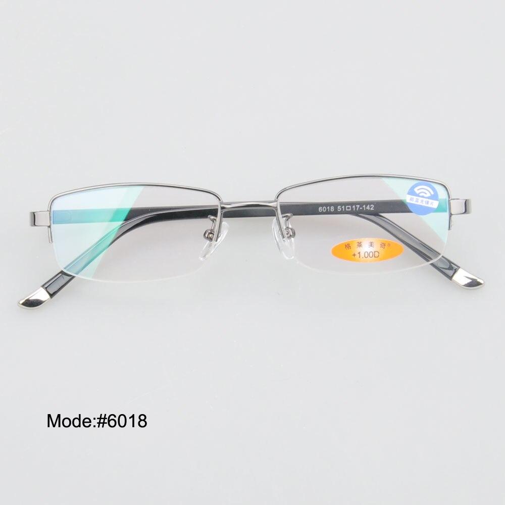 d57548a57a MY DOLI 6018 half rim metal men style anti blue light reading eyewear  eyeglasses spring temple