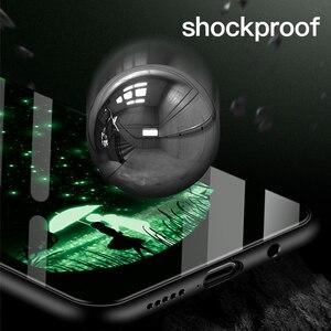 Image 3 - 高級発光強化ガラス電話ケース夜グロー電話用 S7 8 9 10 プラス注 8 9 10e ケース Coque Funda