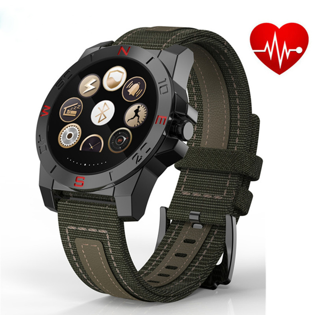 Original N10B Smart Watch with Heart Rate Monitor Altimeter Barometer Compass Th