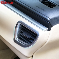 Bbincar ABS Chrome Matte Car Inner Air Vent Outlet Cover Interior Accessories 4pcs For Toyota Corolla