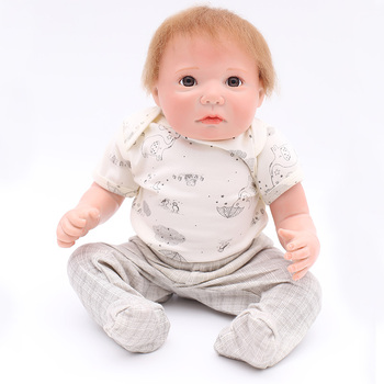 AtordDolls 20inch bebe Reborn Doll Baby Kids Toys Girls boneca X-mas Gift bebe Big Cute Eyes brinquedos baby dolls for Children