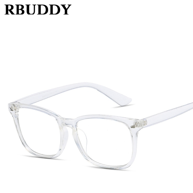 18d5303cdf RBUDDY Transparent Glasses Frame Classic Design Clear Lens Optical  Eyeglasses for Men Women Computer Reading Cute Spectacle 2018
