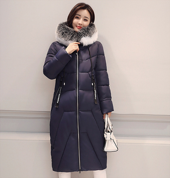 74361b0bd87 2017 Fashion New Female Temperament Fur Jacket Winter Long Jacket ...