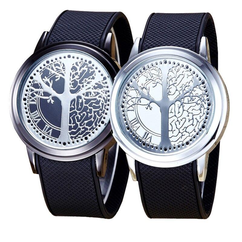 SBAO Relogio feminino Minimalist Touch Screen LED Watch Men Women Couple Watch Smart Electronic Casual Watches
