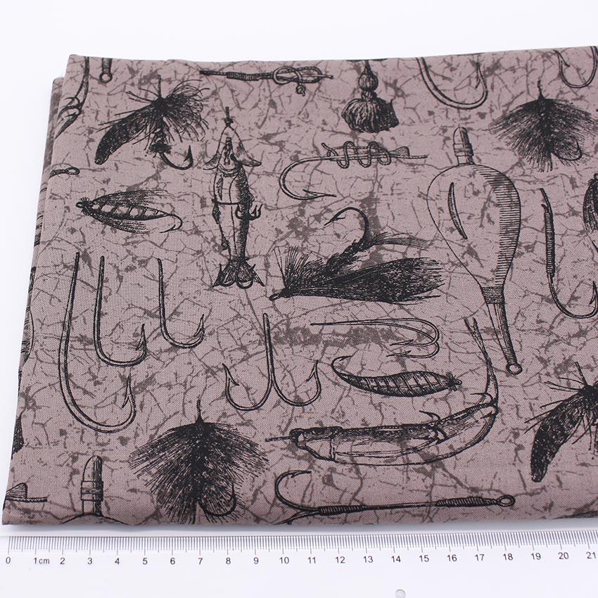 Novely يطبع ذهب الأسماك المطبوعة النسيج - الفنون والحرف والخياطة