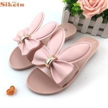 Zapatillas de moda Con Encanto Niza SIKETU Zapatos de Mujer Zapatillas de Playa Verano de Las Mujeres Talones Planos Chanclas Sandalias May22 Y30