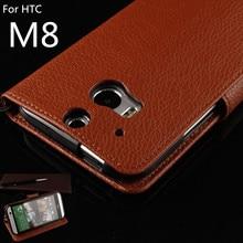 Флип телефона чехол для HTC One M8 M8t M8x чехол обнаружения падения кобура Наличными Держатель Фоторамка + 1 Пленка + 1 Строп