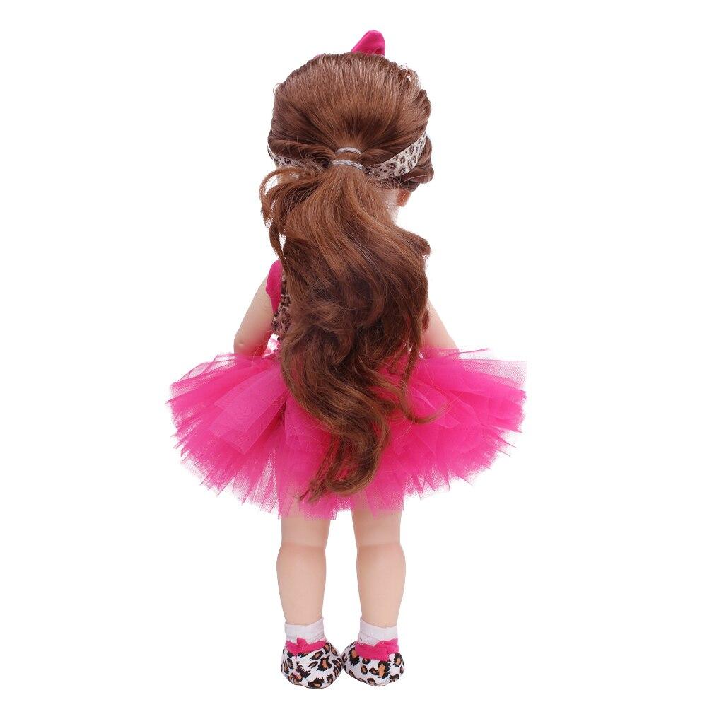 YK & Loving 4Pcs жиынтығы Bow Girl Doll Киім / - Қуыршақтар мен керек-жарақтар - фото 4