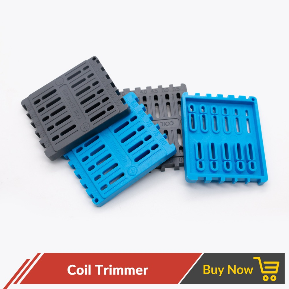 Volcanee Coil Trimmer DIY Tool For Wire Building Ruler Trimmer RTA RDA Atomizer Electronic Cigarette Coil Vape Tool Accessories