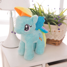 1 Pcs 32cm Unicorn Plush Doll Stuffed & Soft Animal Toys Stitch Cartoon Dolls Soft Pillow Anime Dolls Toys For Children Kids