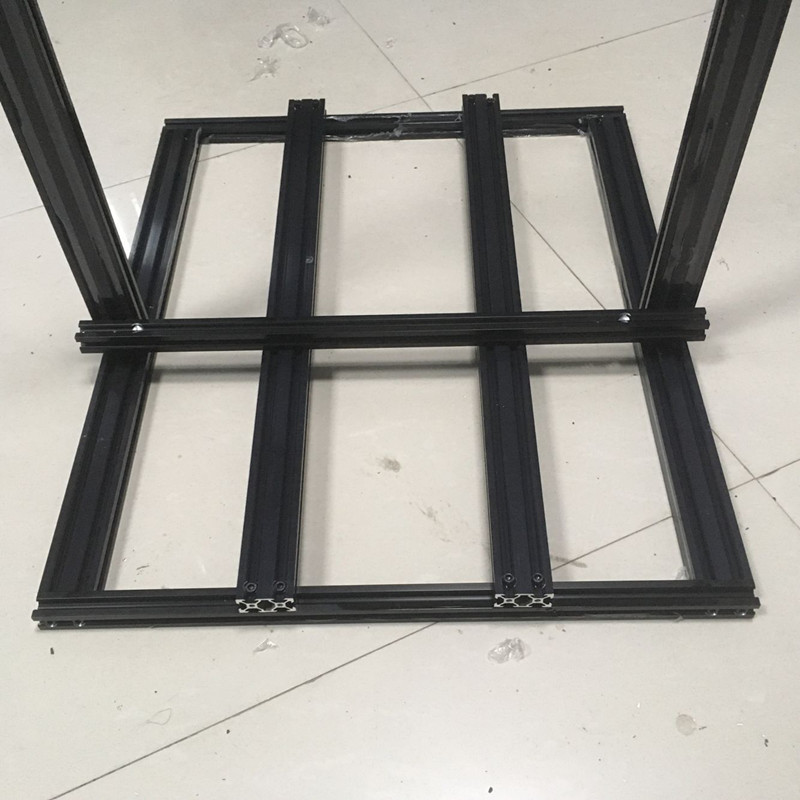 metal frame kit 400mm tamanho 2020 2040 v slot kit mecanico 05