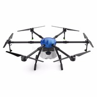 New 6 axis waterproof Spray Agriculture drone w/16L Large Load Tank spraying system 1630mm Wheelbase Folding UAV 16KG Hexacopter