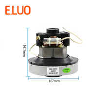220V 800w low noise vacuum cleaner motor 107mm diameter of household vacuum cleaner for QW12T-05A QW12T-05E QW12T-80D