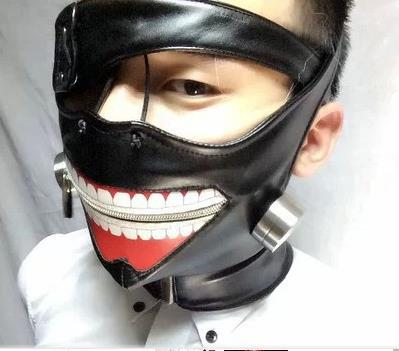 аниме женская маска